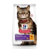 Hill's Science Plan Feline Adult Sensitive Stomach & Skin Chicken 7 kg