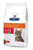 Hill's Feline C/D Urinary Stress Red. Calorie 1,5 kg