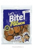 Brit pochoutka Let's Bite Rolls o'Salmon 400g NEW