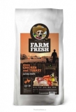 Farm Fresh Chicken & Turkey Active/Puppy Grain Free 15kg