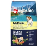 Ontario Adult Mini Fish & Rice 6,5 kg