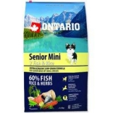 Ontario Senior Mini Fish & Rice 6,5 kg