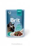 Brit Premium Cat D Fillets in Gravy With Beef 85g