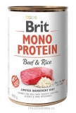 Brit Mono Protein Beef & Brown Rice 400g