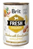 Brit Dog Fresh Chicken with Sweet Potato 400 g
