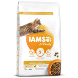 IAMS CAT ADULT HAIRBALL CHICKEN 10KG
