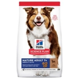Hill's Science Plan Canine Mature 7+ Medium Lamb & Rice 14 kg