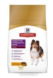 Hill's Canine Dry Adult Sensitive Stomach Skin s kuřetem 12 kg