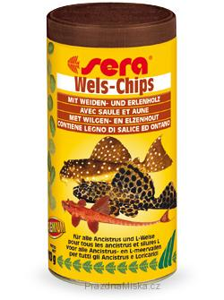 Sera Wels Chips 500ml