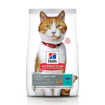 Hill's Science Plan Feline Young Adult Sterilised Tuna 3 kg