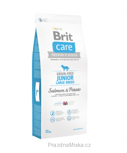 Brit Care Dog Grain free Junior Large Breed Salmon & Potato 12 kg