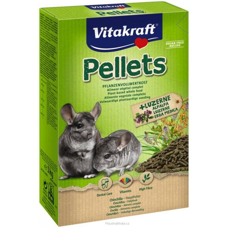 VITAKRAFT CHINCHILA-PELLETS 1kg