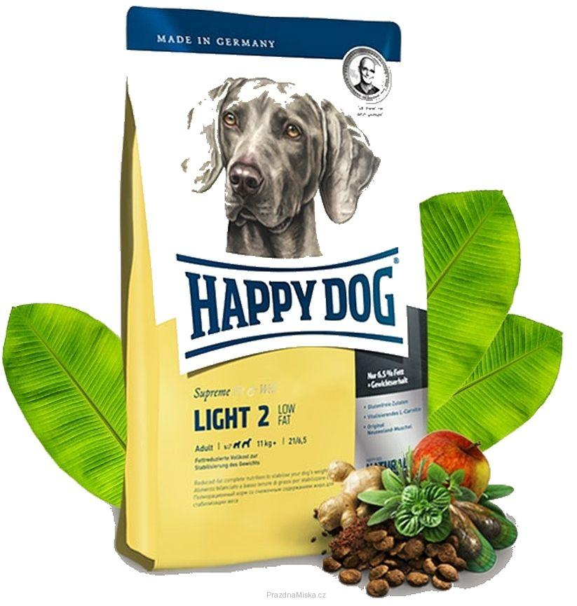 HAPPY DOG Light 2 - Low fat 12,5 kg