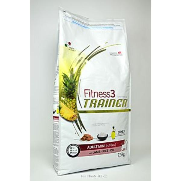 Trainer Fitness Adult Mini Lamb Rice 7,5kg