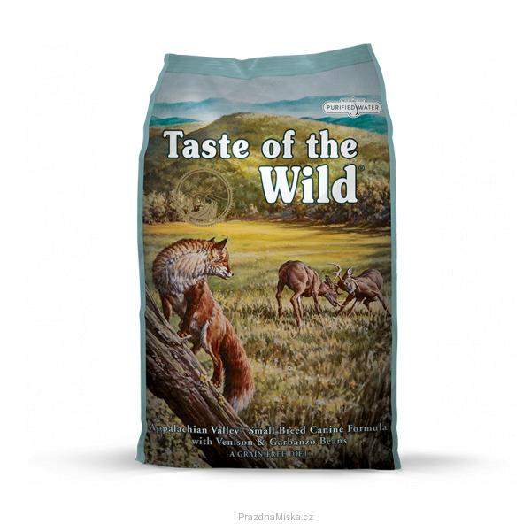 TASTE OF THE WILD Appalachian Valley Small Breed 2x12,2kg