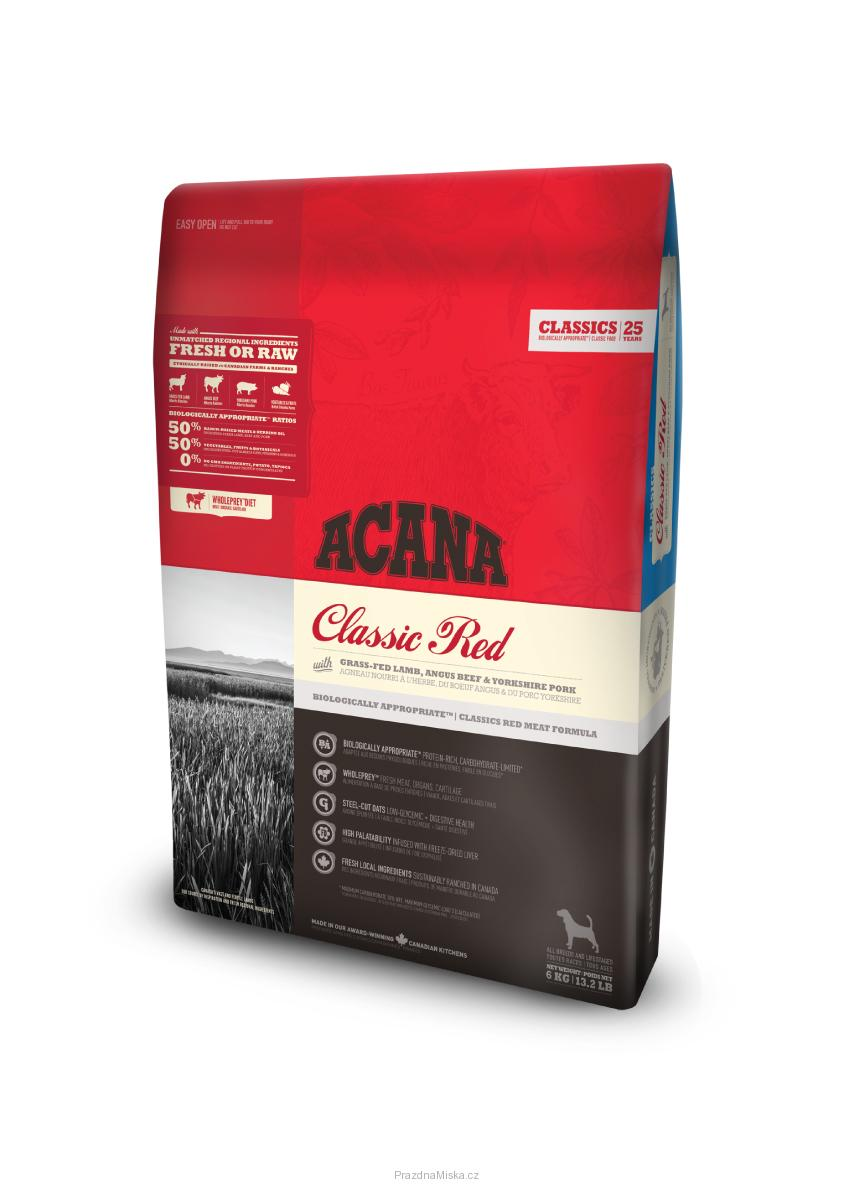 ACANA DOG CLASSIC RED 17kg