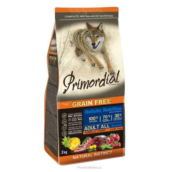 Primordial Pet Food PGF Adult Tuna & Lamb 12kg