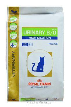 ROYAL CANIN VD Feline Urinary S/O high dilution UHD34 7 kg
