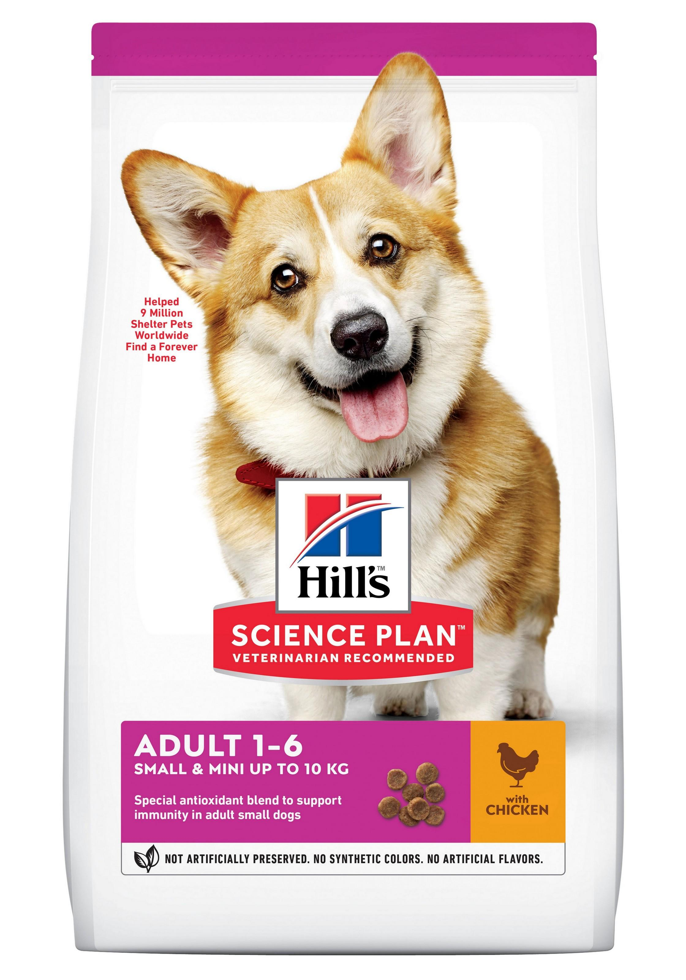Hill's Science Plan Canine Adult Small & Mini Chicken 6 kg