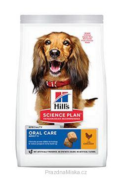 Hill's Science Plan Canine Adult Oral Care Medium Chicken 12 kg