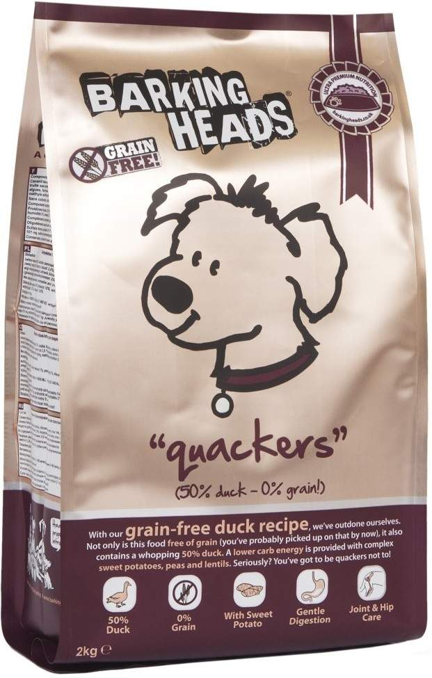 Barking Heads Professional Duck Grain Free 18 kg